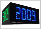 "5000cd / ㎡ Brightness led price signs for gas stations , IP 65 16"" DIY LED Sign Board"
