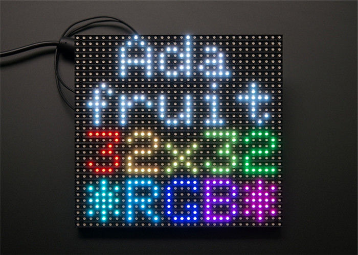 32 x 32 RGB 3 in 1 LED Display Module High Resolution Brightness Matrix Panel Pitch 5mm