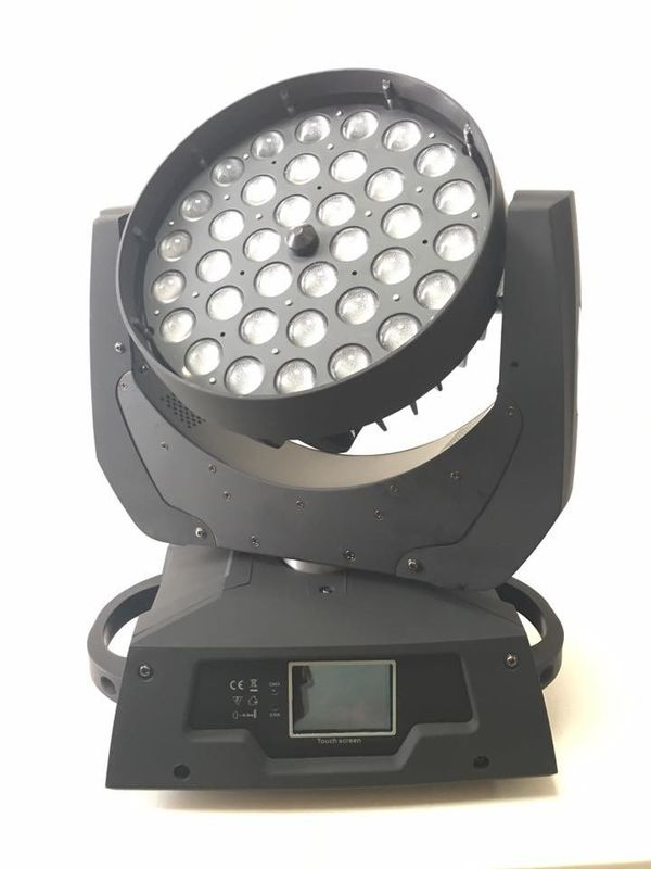 15w 4 In 1 Rgbw Moving Head Stage Lights Zoom Wash Lighting Equipment Tilt Speed Adjusted