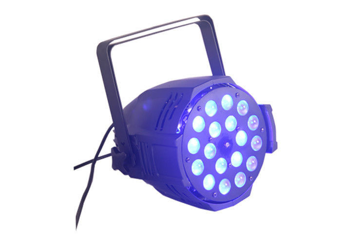 RGBWA LED Stage Lighting Wash Par Can Lights 300W 6/10 Channel Voice Control