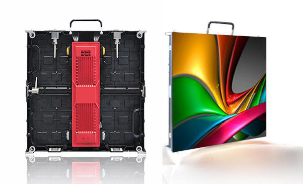 Super Slim Micro Led Display Rental Cabinet Billboard Rgb P4 P5 P6 P7 Die Casting Aluminum